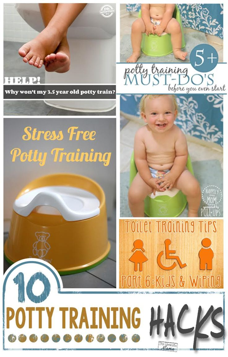 10 Awesome Potty Training Tips and Hacks - that actually work! I plan on trying #4.