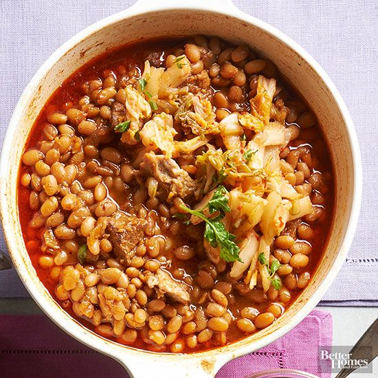 Deep and Smoky Baked Beans