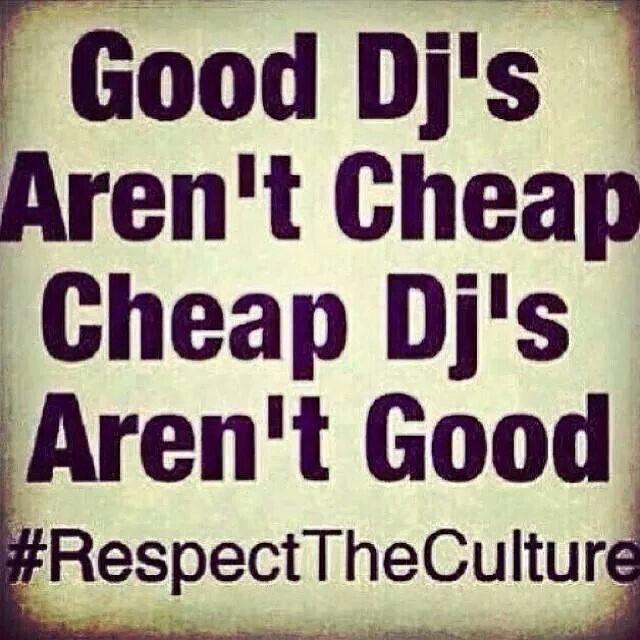 """- """"Good DJ's Aren't Cheap,       hip hop instrumentals updated daily =>…"""