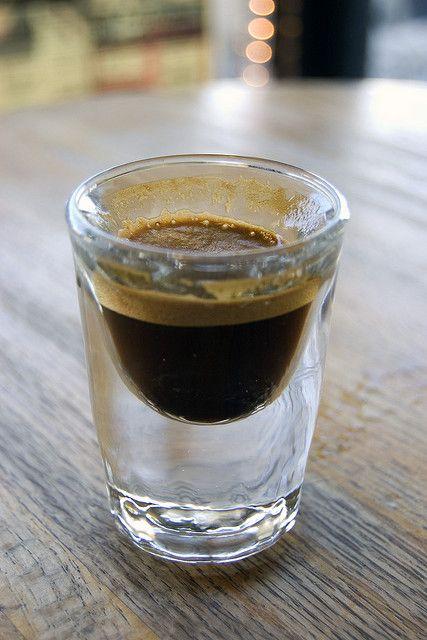 Single Ristretto Brazilian Espresso Shot by Food Thinkers, via Flickr
