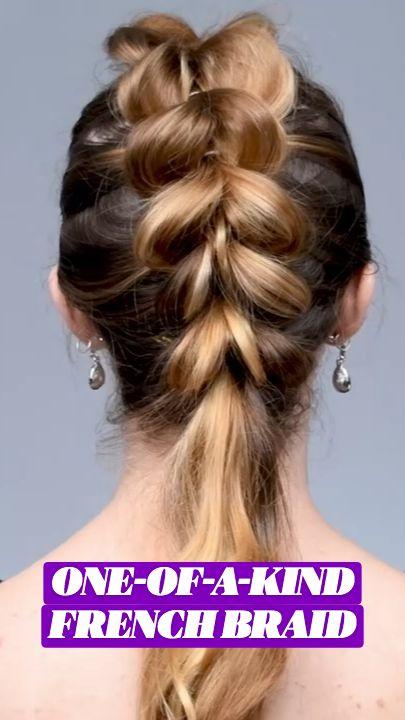 Easy Hairstyles For Long Hair, Up Hairstyles, Haircuts, Hair Up Styles, Natural Hair Styles, Clear Hair, Goddess Braids, French Braid, Hair Tutorials