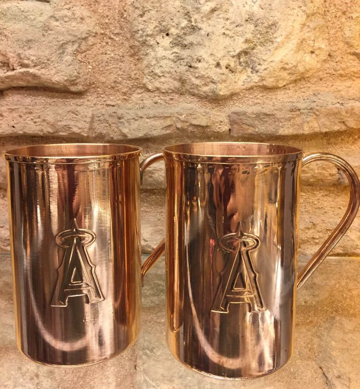 COPPER MOSCOW MULE SET OF TWO