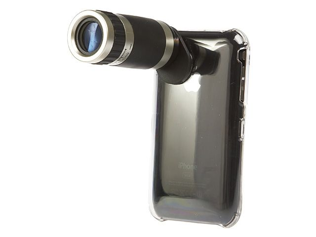 Turn your iPhone into an iTelescope | Brando launches a new iPhone zoom lens add-on this week, for eager amateur spies, stalkers or those wishing to turn their sleek Apple Jesus-phone into something resembling a toy for idiots. Buying advice from the leading technology site