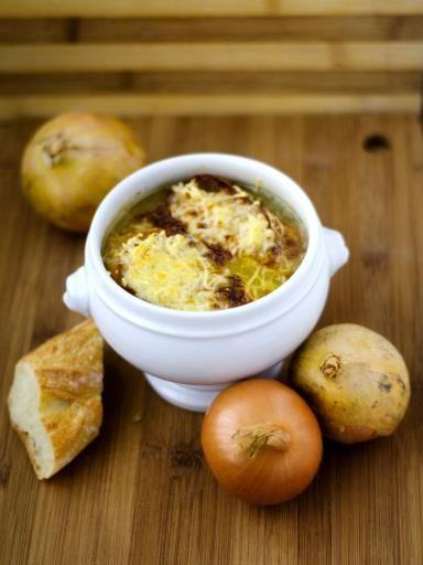 Recette de Soupe à l'oignon