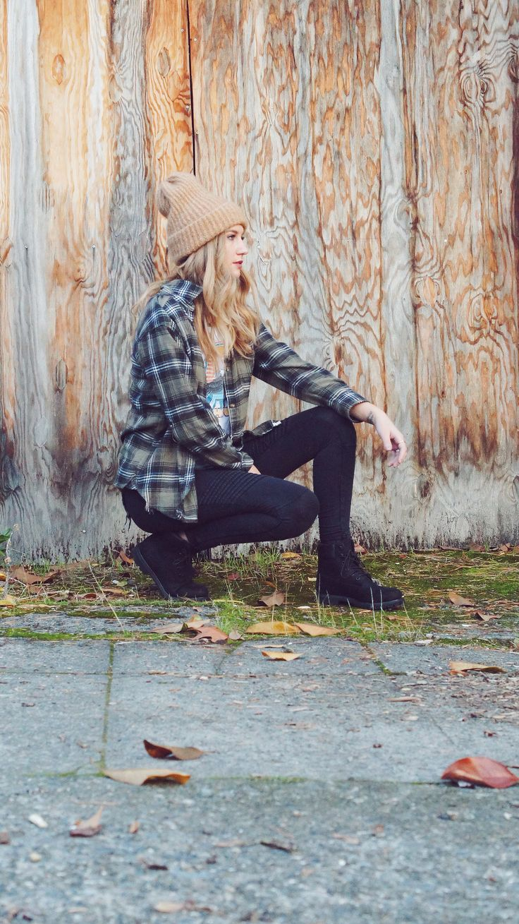 How To Style // Black Timberland Boots  Love Mala Blog | lovemalablog | Black boots outfit | Black combat boots | black combat boots outfit | combat boots outfit | Black timberlands | Black timberlands outfit | casual outfit | flannel outfit | girls with tattoos | girls with sleeves | black timberland boots | black timberland boots outfit | timberlands outfit | timberland boots outfit | cute winter outfit | snow outfit | winter outfit | how to style combat boots | how to style black boots