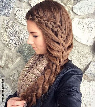 Winter Hairstyles Gorgeous 41 Best Winter Hairstyle Images On Pinterest  Hair Colors Hair Dos
