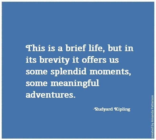 Quotable -Rudyard Kipling