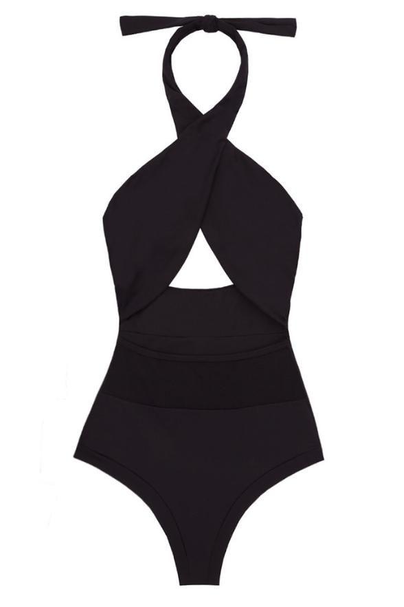Del Mar Alayna Maillot One Piece Swimsuit, $195,  delmarswim.com