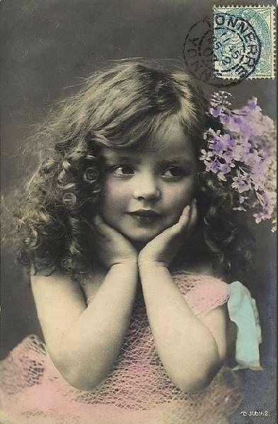 windypoplarsroom:                  vintage postcard                                  Vintage Postcard
