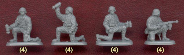 Plastic Soldier Review - Armourfast WWII German Mortar Team