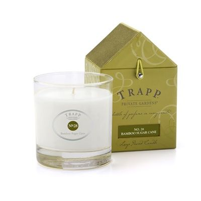 No 28 Bamboo Sugar Cane Trapp Candle | Notes captured from the heart of the sugar cane with a burst of citrus, enhanced with a touch of green bamboo.