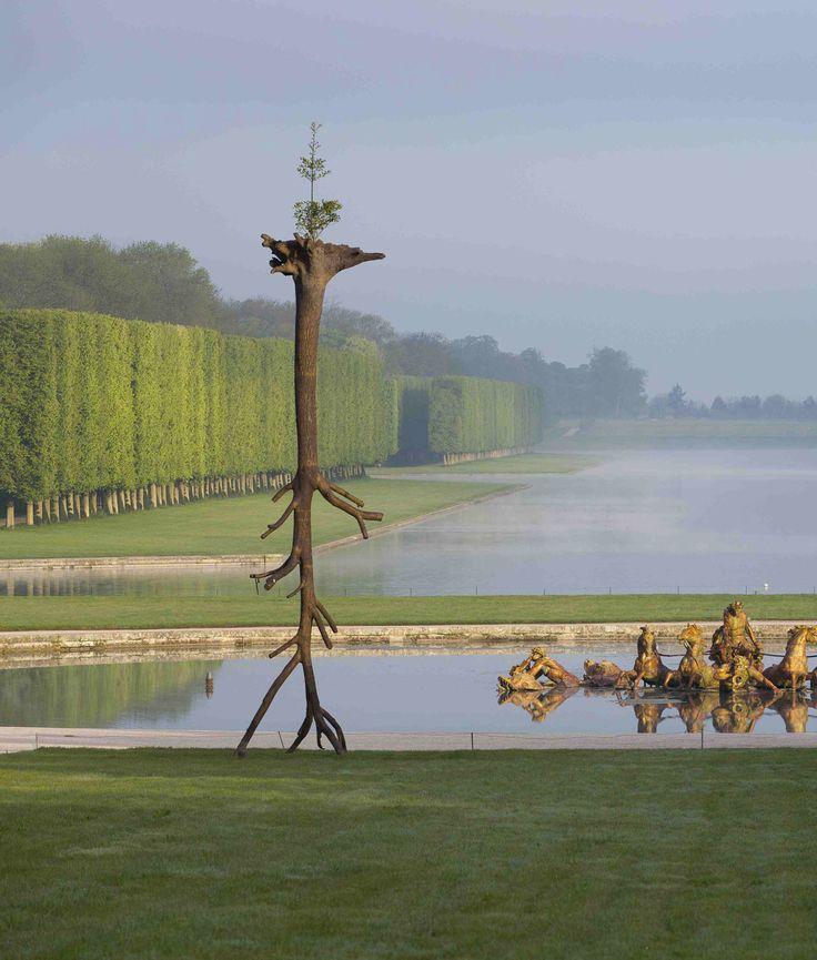 Giuseppe Penone, Le foglie delle radici, Versailles, 2013
