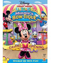 "Disney Mickey Mouse Clubhouse: Minnie's Bow-tique DVD - Walt Disney Studios - Toys ""R"" Us"