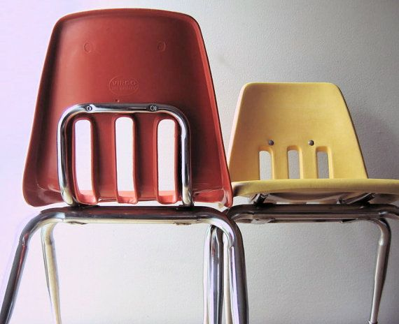 classroom chair back. old school classroom chairs. i feel like spent half my childhood sitting in chairs chair back