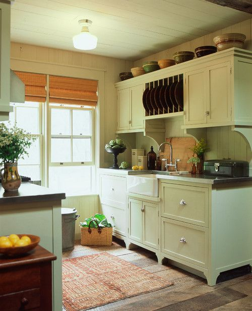 1076 best country and primitive kitchens images on for Carriage house kitchen cabinets
