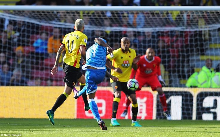 Bournemouth substitute Joshua King saw his speculative shot fly in off Younes Kaboul's hip to restore his side's lead