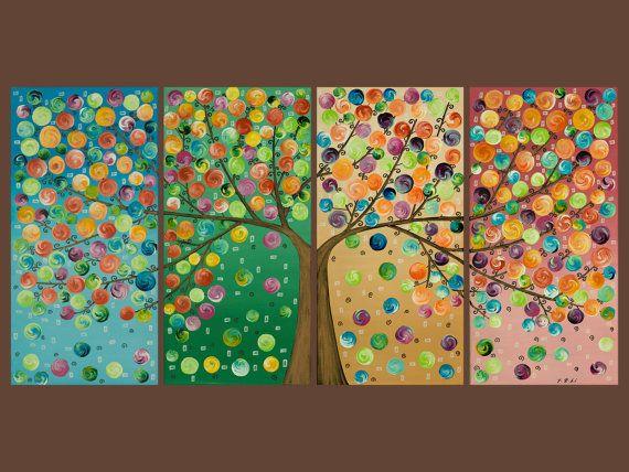 just love tree paintings!