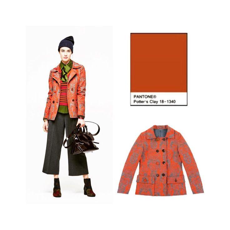 Uno de los 10 colores que triunfarán este otoño es el Potter's Clay 🍁marrón anaranjado, un color que nos inspira @ProteaBdn en la época otoñal. Todo de la firma @maliparmiofficial made in Italy #maliparmi #tendencies #trends #brocados #brocade #inspiration #colours #pantone #fashioncolorreport #instyle #looktotal #ootd #lookoftheday #totallook #outfitoftheday #essentials #outfit #woman #girl #style #stile #musthaves #proteabdn #moda #boutique #badalona #barcelona #shopthelook proteabdn.com