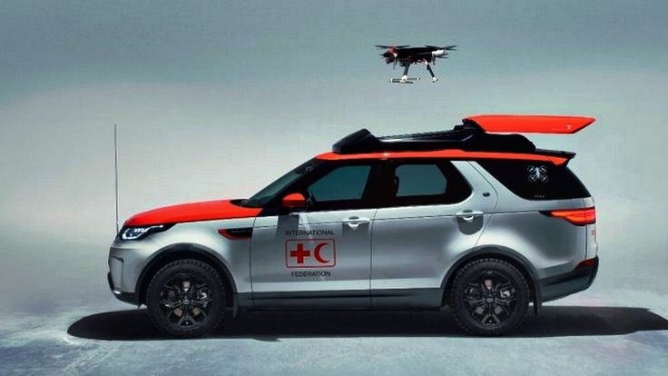 Land Rover Discovery: New vehicle is adopting drone technology for the R...  Land Rover Discovery: New vehicle is adopting drone technology for the Red Cross.  Jaguar Land Rover is adopting drone technology with its new special operations 'Hero Project' vehicle. The only version of the Land Rover Discovery has been created specifically for the Austrian Red Cross as part of Jaguar's partnership with the humanitarian network...  #Car #Tech #Jaguar #Technology #LandRover  #Drone #AbanTech…