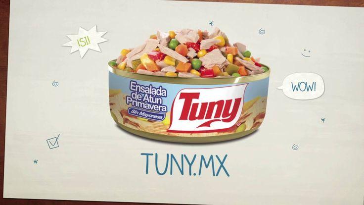 Atún Tuny es una magnífica alternativa a la hora de preguntarse que comer. De una lata de atún Tuny pueden prepararse platillos, muy deliciosos, fáciles de cocinar y saludables. Atún Tuny es una gran opción. Encuentra nuestras recetas en: http://tuny.mx/recetas-de-atun/