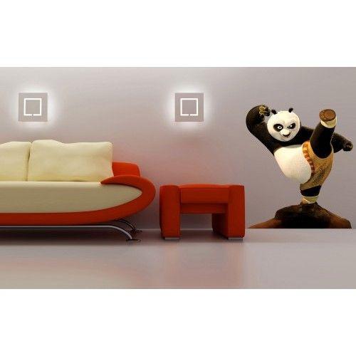 135x150cm DUVAR STİCKER -Kung Fu Panda 200015