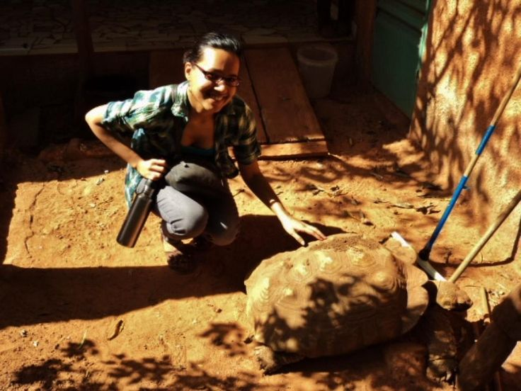 MPH grad Natalie Martin was one of ten young leaders who participated in international internships in Africa and Latin America, including Brazil, Burkina Faso, Ecuador, Guyana, Kenya, Malawi, Panama and South Africa.