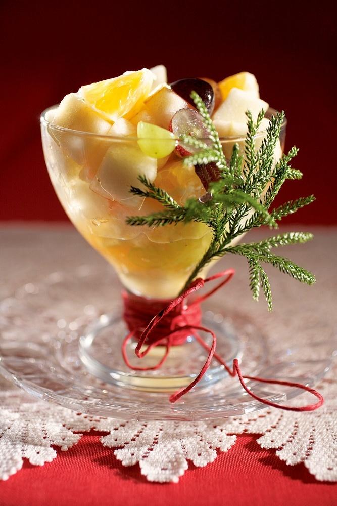 Marinoitu hedelmäsalaatti | K-ruoka #joulu #jälkiruoka
