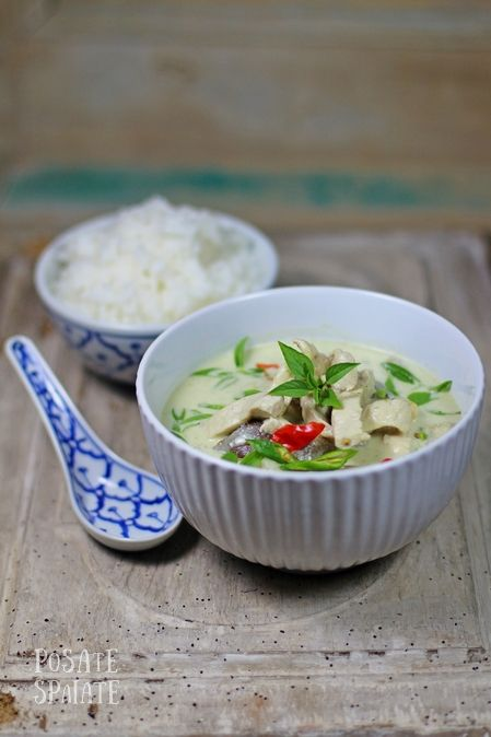 Curry verde di pollo_Posate Spaiate