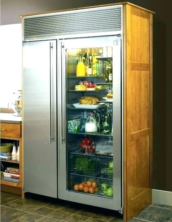 Refrigerator Glass Door Residential Glass Door Refrigerator Glass Door Residential Livelihood Info W Glass Door Refrigerator Outdoor Kitchen Appliances Kitchen
