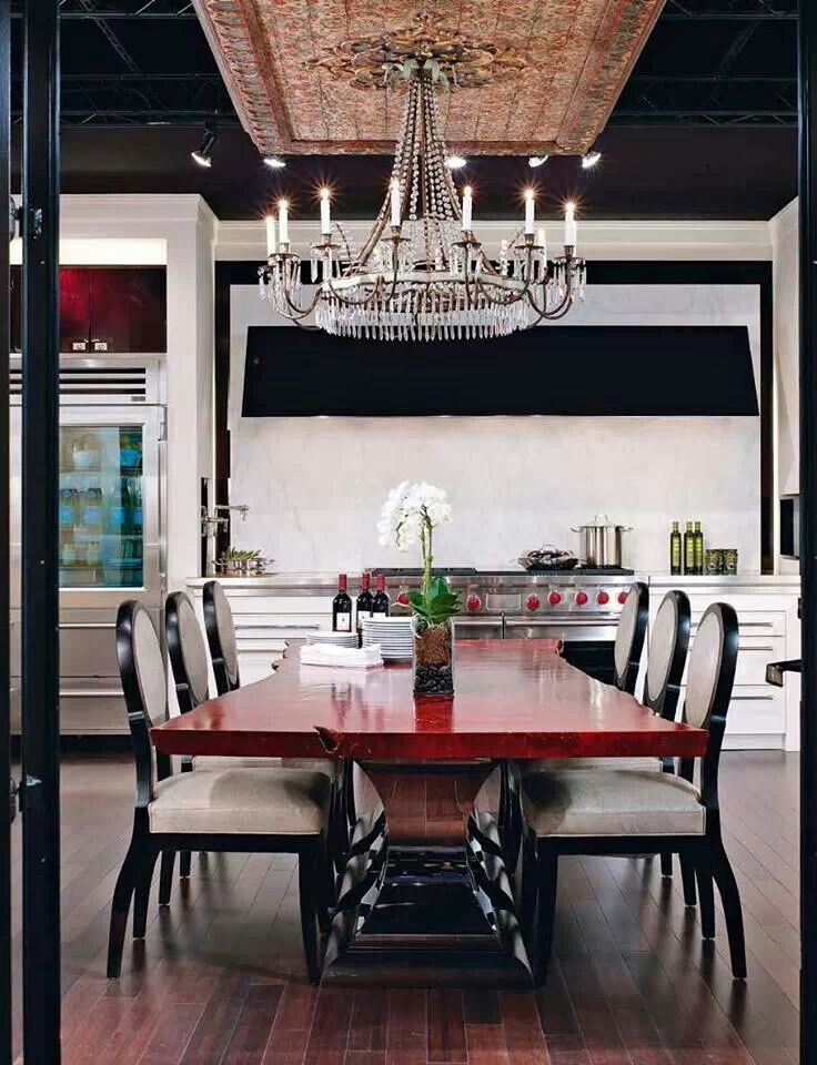 Black And Red Kitchen Designs Photo Decorating Inspiration