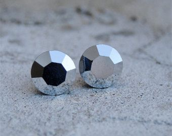 Small metallic studs!