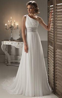 O Diario de uma Noiva...: Vestidos de Noiva Estilo Grego
