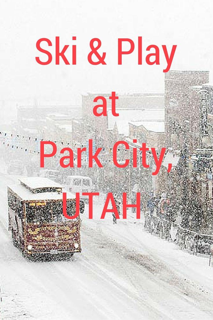 Park City, Utah has become a hot spot winter enthusiast's city. It is a cosmopolitan city. #Utah #ParkCity #Travel #Snow #ski | http://www.contentedtraveller.com/park-city-utah-hot-spot-ski-resort/