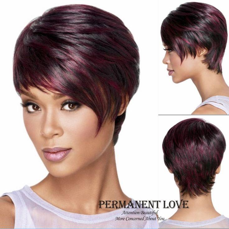 Popular Burgundy Hair Highlights-Buy Cheap Burgundy Hair ...