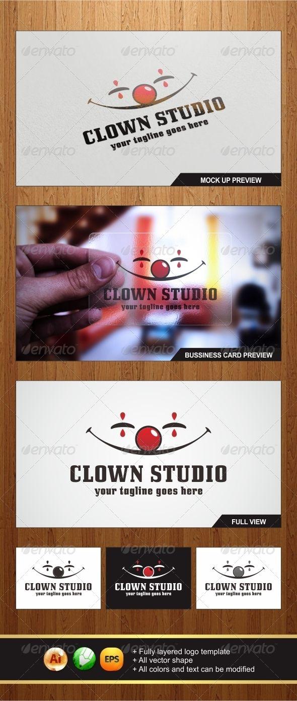 Clown Studio Logo - Graphicriver