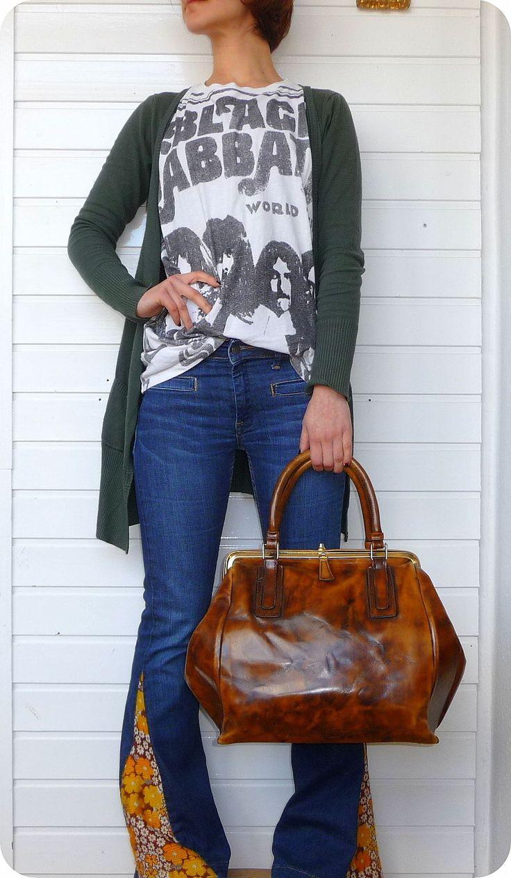 VINTAGE P. P. FOUGY Leder Tasche Weekender Leather Bag Arzt- Handtasche Lack in Kleidung & Accessoires, Damentaschen | eBay