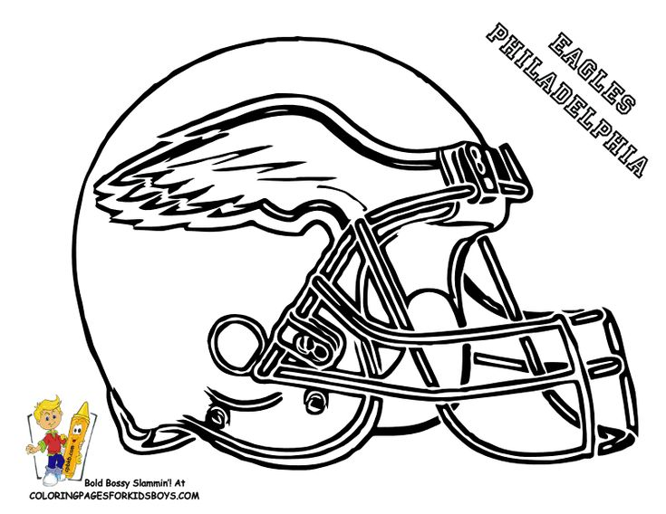 eagle football coloring pages football helmet coloring page 01nfc football helmets free - Football Coloring Pages