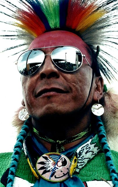 Andrew Hogarth – Timothy Eashappies, Assiniboine-Lakota, Crow Fair, Montana, 1996.