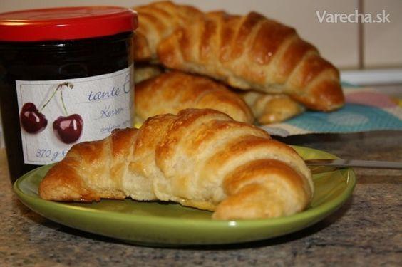 Domáce maslové croissanty (fotorecept)