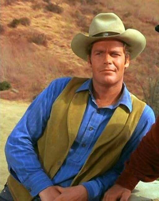 Doug McClure as my favorite cowboy, Trampas! ❤
