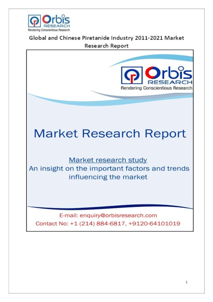 The Global and Chinese Chromic Hydroxide Industry, 2011-2021 - market research