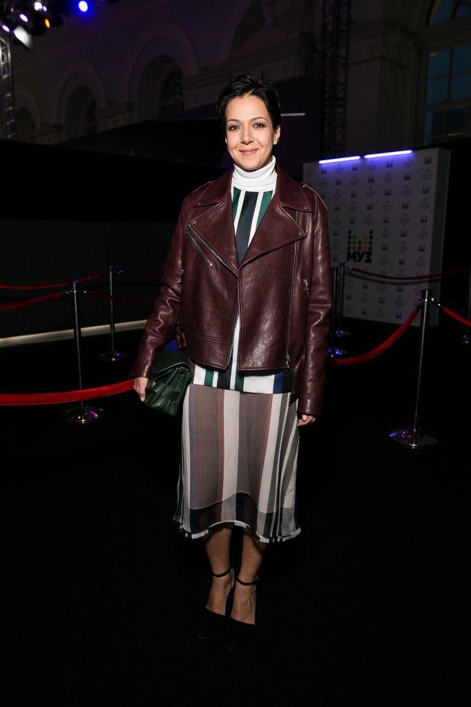#kseniachilingarova #wearing #top #skirt #marni