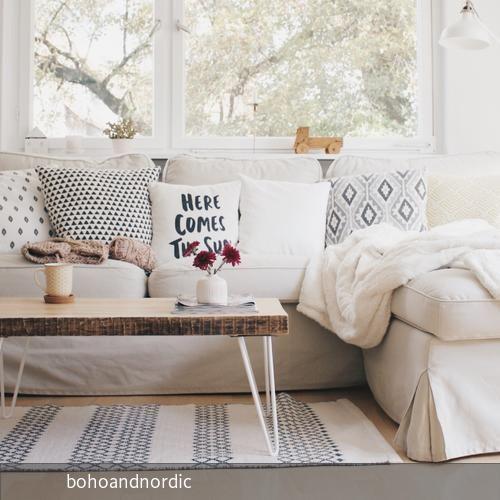 Skandinavische Leichtigkeit bei bohoandnordic zu Hause!  ---HOMESTORY! ---> roomido.com #roomido