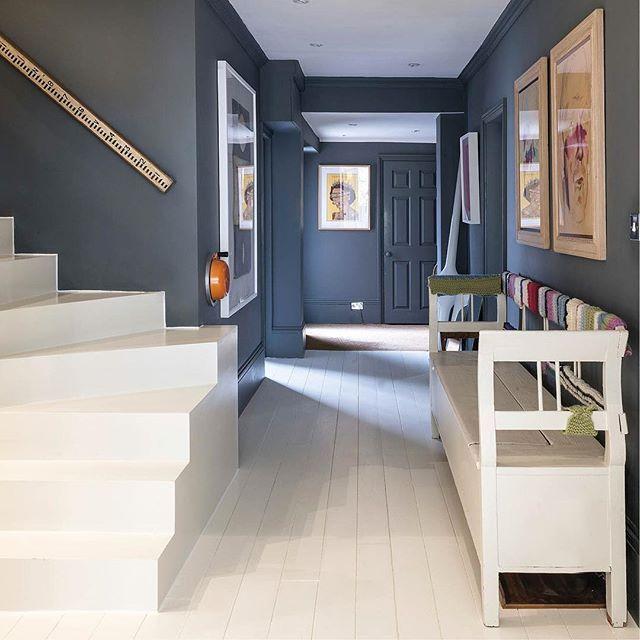 SUNDAY: Take a peek inside the incredible home of @farrowandball's paint guru Joa Studholme. Colour ideas galore!