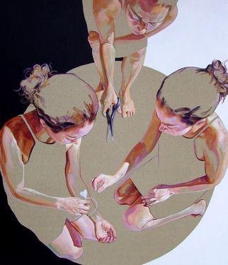 "Saatchi Art Artist Cristina Troufa; Painting, """"Escrever de novo"" (write again) SOLD"" #art"
