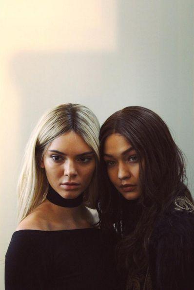 pinterest | bellloneil | Kendall Jenner & Gigi Hadid