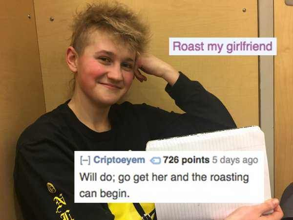 20 People Who Asked To Be Roasted And Got Obliterated Funny Roasts Brutal Roasts Funny Memes