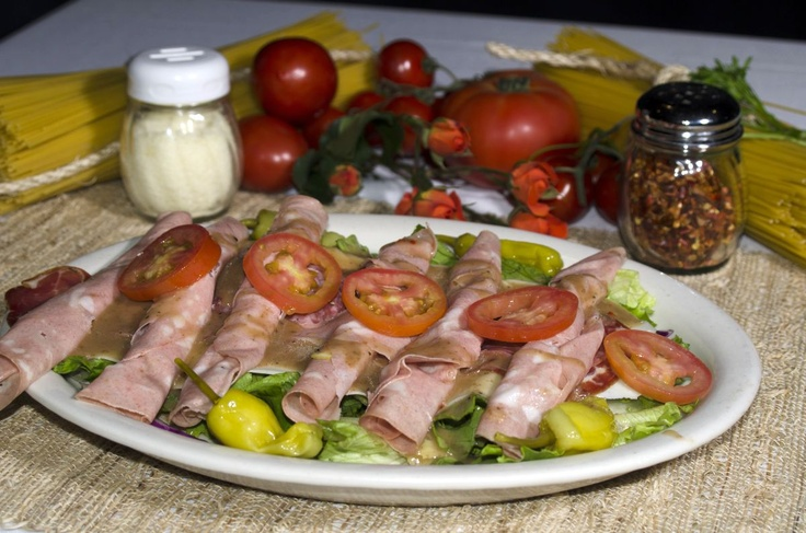 Prosciuto with the right dressing – this will make a great appetizer, both in our restaurant and at home.  http://viscontisristorante.com/menu.php