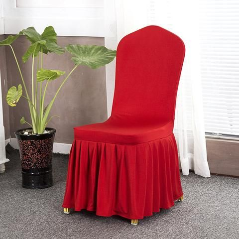 Solid Color Stretch Chair Covers  Dining Slipcovers Kitchen Ideas For Home Easy Cheap Spandex Design Elegant Fabric Simple Birthday Home Decor Ideas Decoration Shops Fabrics Fit Receptions Beautiful DIY Life Fun Accessories Modern Chic Awesome Pictures Interior Design For Sale Buy Online Shops Store Products Shopping Home improvement Housse Couverture de chaise Pas cher Achetez en ligne  USA Canada Australia France Red