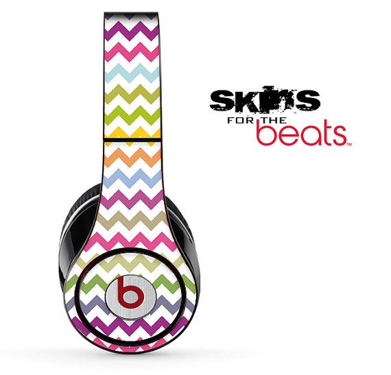 Rainbow Striped Skin for the Beats by Dre Studio by TheSkinDudes, $19.99